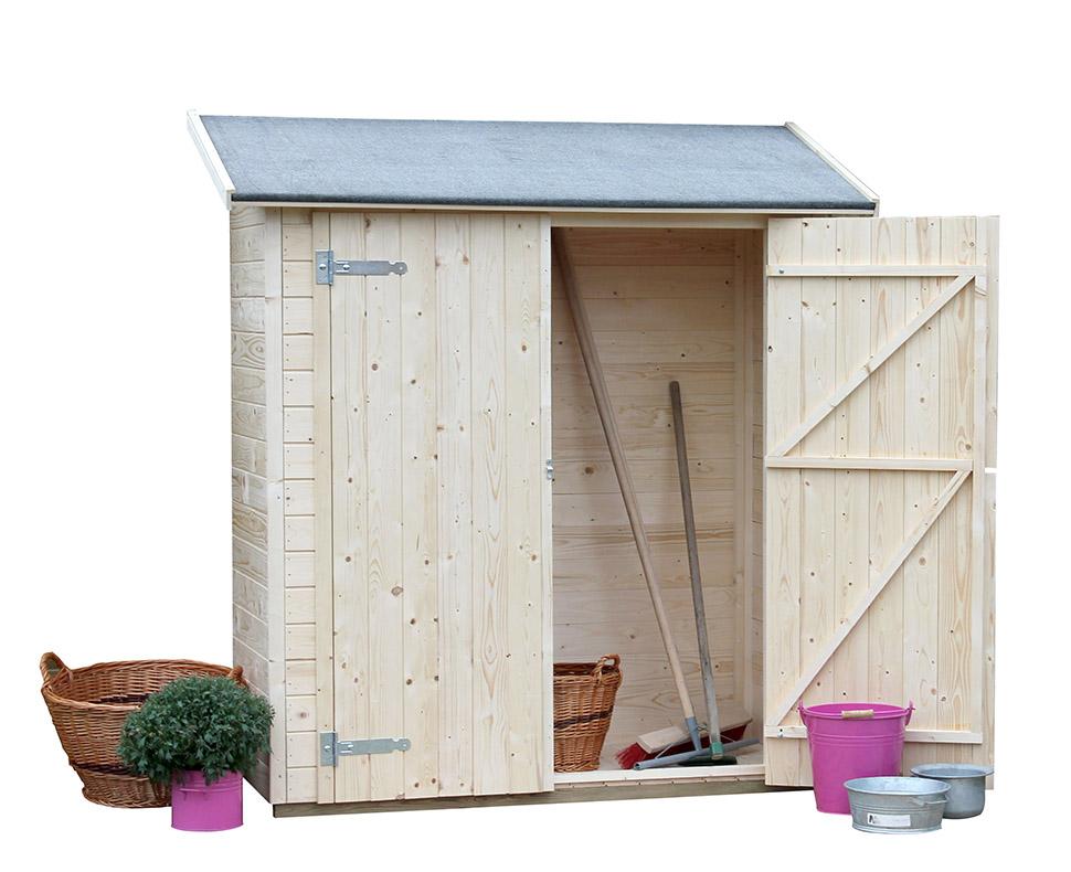 Armario de madera gardiun marge gardiun - Armarios de jardin ...