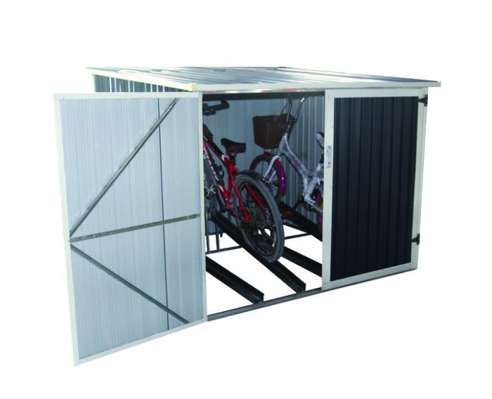 Caseta met lica para bicicleta gardiun veloc ii x4 4 02 for Casetas para guardar bicicletas