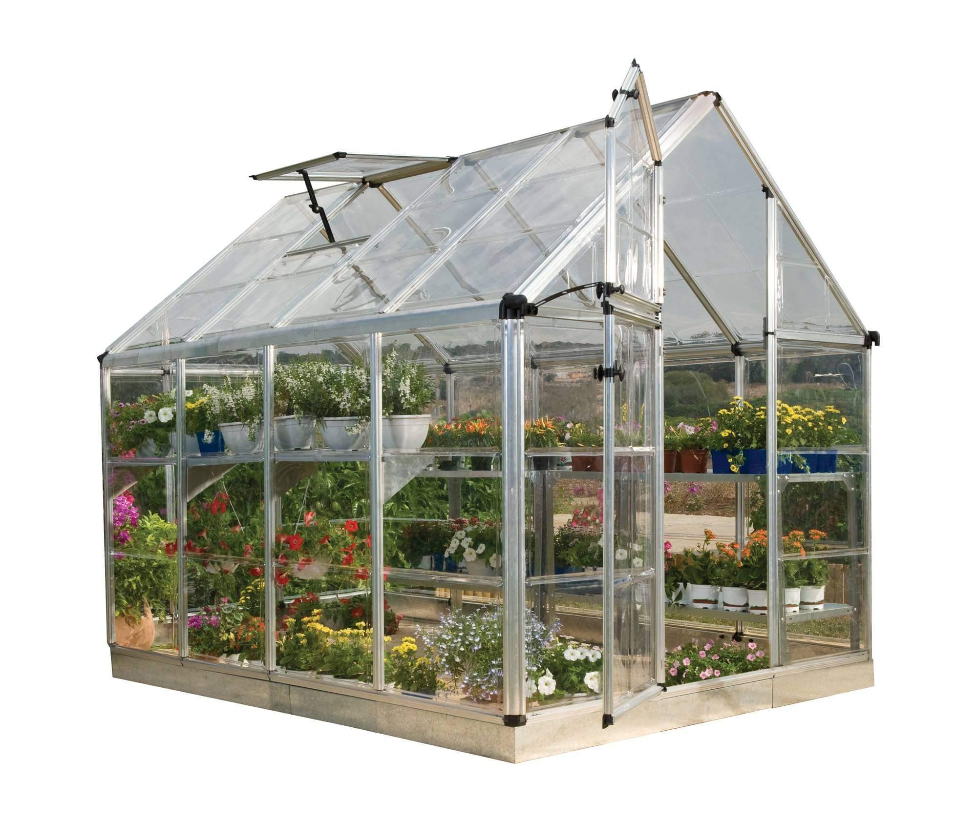 Invernadero ast s 4 m dulos efecto cristal gardiun - Invernaderos de cristal ...