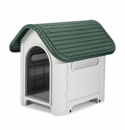 Caseta de Perro Kira (Verde) KZT1005