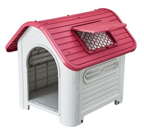Caseta de Perro Kira (Roja) KZT1006
