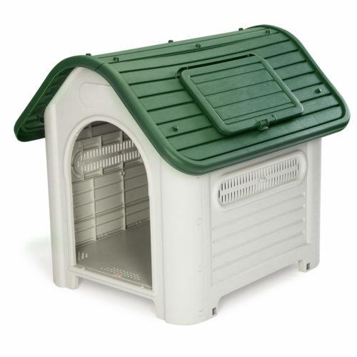 Caseta de Perro Kira (Verde) KZT1007